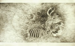 The Transition, graphite, 2009