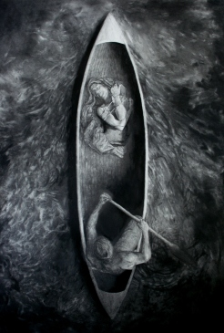 Fallacy of Preservation, graphite, 2010