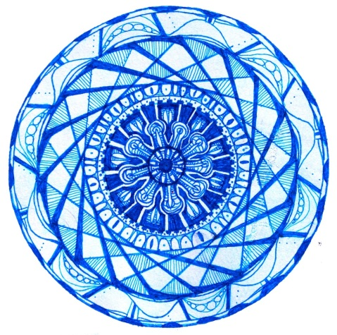 Original Blue Mandala2