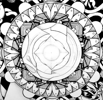 Matt's Mandala Compass Detail
